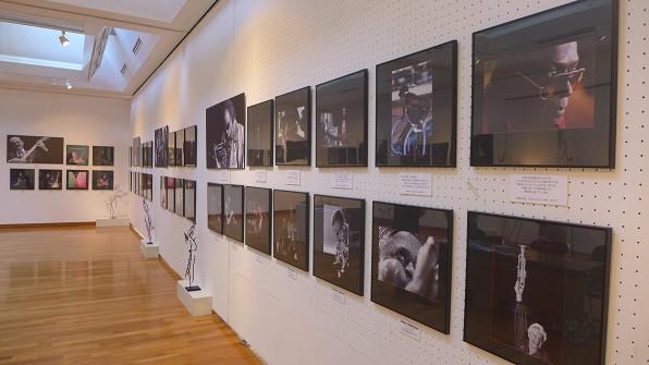 「JAZZの肖像・JAZZの造形」展 世田谷美術館 その3